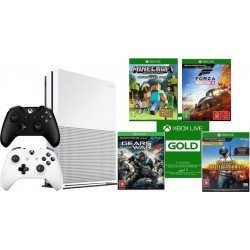 Xbox One S 1TB Console + Controller + 4 Games + 3 Months Gold Subscription