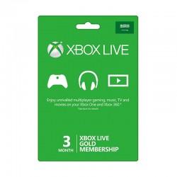 Xbox Live 3-Month Gold Membership Card (Saudi Store)