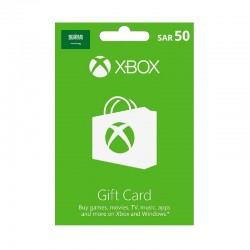 Xbox Gift Card SAR50 (Saudi Account)
