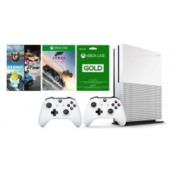 Xbox One S 1TB Console + Forza Horizon 3 + Steep + The Crew Games + Xbox Live Card 3 Months + Controller