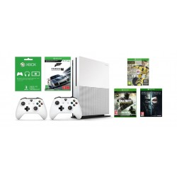 Xbox One S 500GB Console + 4 Xbox One S Games + Xbox Live Card 3 Months + Controller