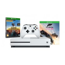 Xbox One S 500GB Console + Forza Horizon 3 + Playerunknown's Battlegrounds: Xbox One Game (CODE)
