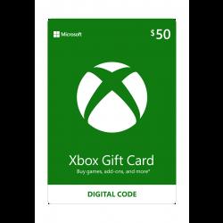 Microsoft Xbox Live - (50USD)