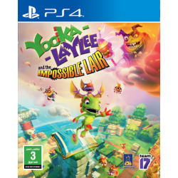 Yooka Laylee & Impossible Lair - PS4 Game