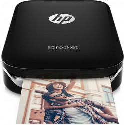 HP Sprocket Portable Photo Printer (Z3Z92A) - Black