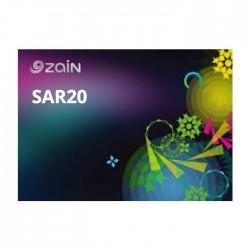 Zain Card - SR 20