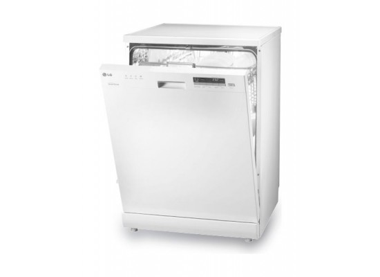 LG Dishwasher 6-Programs 14-Settings Freestanding Dishwasher (D1450WF1) – White