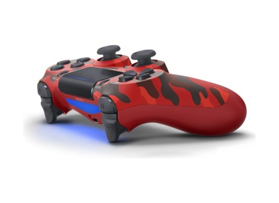Sony PS4 Dual Shock 4 Wireless Controller - Red Camouflage V2