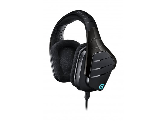 Logitech G633 Artemis Spectrum 7 1 Surround Gaming Wired Headset with Mic  (981-000605) - Black