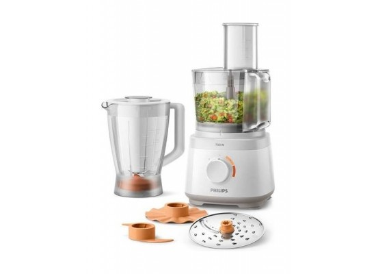 Philips Daily Collection Food Processor - 700W 2.1L (HR7320/01)