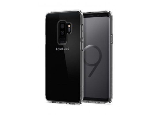 big sale 94bb7 b9c96 Spigen Ultra Hybrid Galaxy S9 Plus Case (593CS22923) - Clear