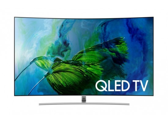 SAMSUNG 55 inch Curved 4K Smart QLED TV - QA55Q7C