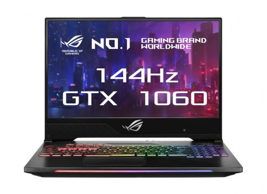 Asus ROG Strix GeForce 1060 6GB Core i7 16GB RAM 1TB HDD + 256 GB SSD 15 inchHero II Gaming Laptop