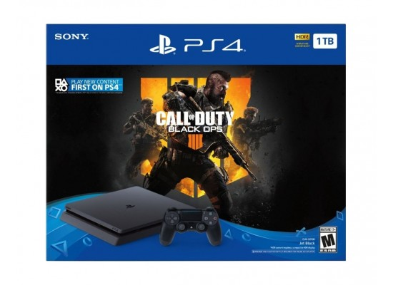 Sony PlayStation 4 Slim 1TB + Call of Duty: Black Ops 4 - PlayStation 4 Game 2