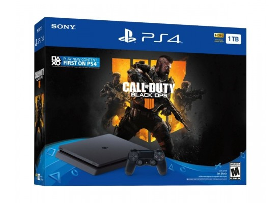 Sony PlayStation 4 Slim 1TB + Call of Duty: Black Ops 4 - PlayStation 4 Game 3