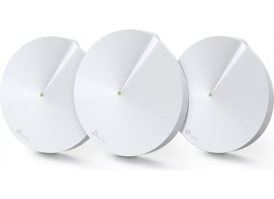 TP Link AC2200 Smart Home Mesh Wi-Fi System Deco M9 Plus Set Of 3