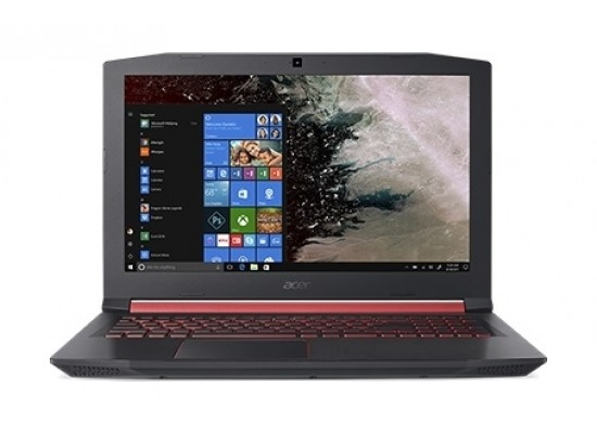 Acer Nitro 5 GeForce GTX 1050 4GB Core i7 8GB RAM 1TB HDD 15.6 inch Gaming Laptop (AN515-52-744J) - Black