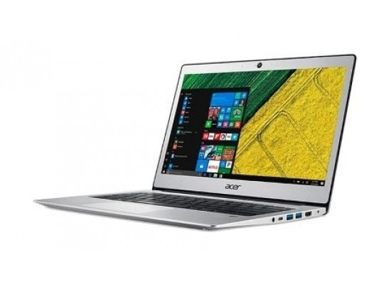 Acer Swift 1 Intel Celeron N3350 RAM 4GB HDD 64 emmc 13.3-Inch Laptop (NX.GP1EM.001) - Silver