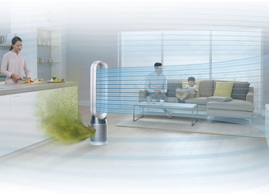 Dyson Pure Cool Purifying Fan (TP04) - White/Silver