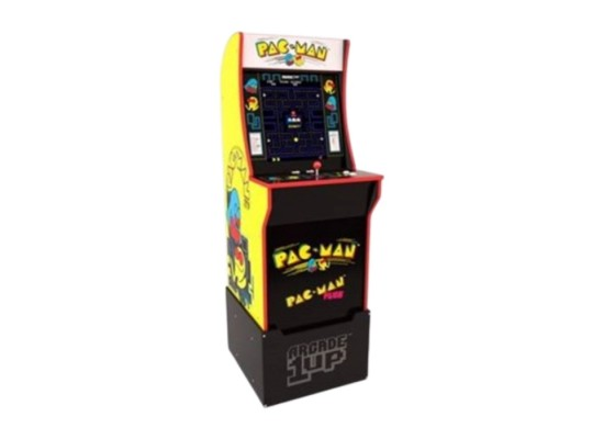 Arcade1Up Pac-Man Arcade Cabinet with Generic Riser in KSA | Buy Online – Xcite