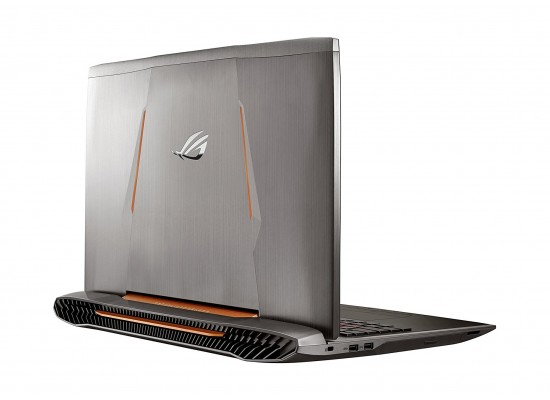 Asus ROG G752V Intel Core i7 32GB RAM 1TB+256 SSD 17.3 Inch Gaming Laptop - Copper Silver