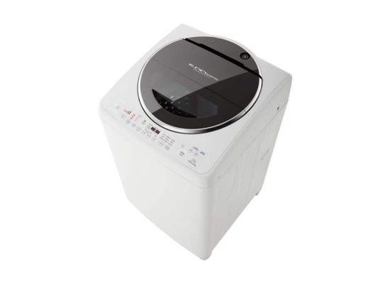 Toshiba 12KG Top Load Washing Machine (AW-DC1470WUPBB) - White