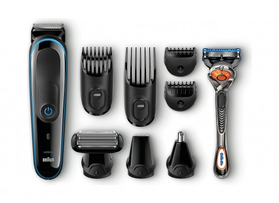 Braun 9 in 1 Multi Grooming and Trimmer Kit MGK3080 - Black