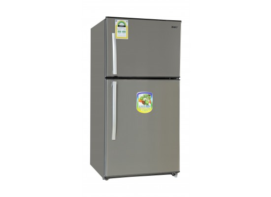 Basic 21 01 Cft Top Mount Refrigerator (BRD-774) Stainless Steel