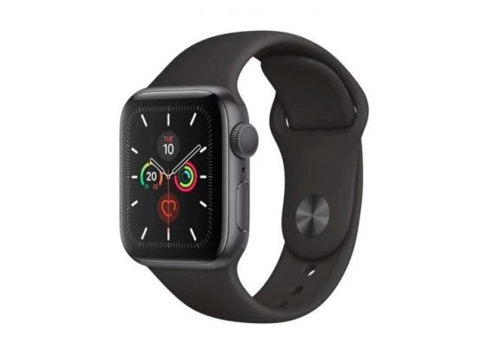 Apple Watch Series 5 GPS 44mm Grey Aluminium Case with Black Sport Band