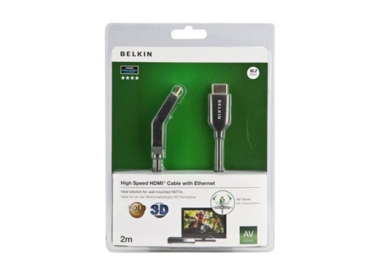 Belkin High Speed HDMI With Ethernet Cable 2M