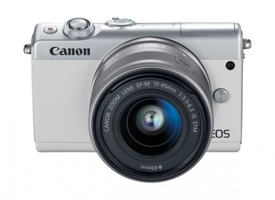 Canon EOS M100 Mirrorless Digital Camera with 15-45mm Lens 2