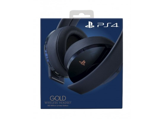 ps4 500 million limited edition headset
