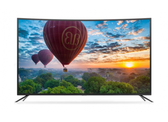 Wansa 65 inch Curved 4K Ultra HD Smart LED TV - WUD65G7760SCN