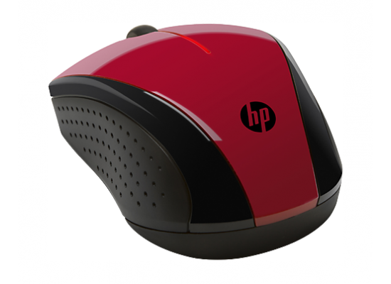 HP X3000 Sunset Wireless Mouse (N4G65AA) – Red