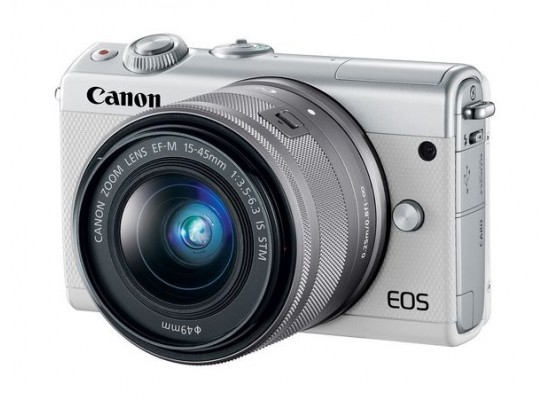 Canon EOS M100 Mirrorless Digital Camera with 15-45mm Lens 3