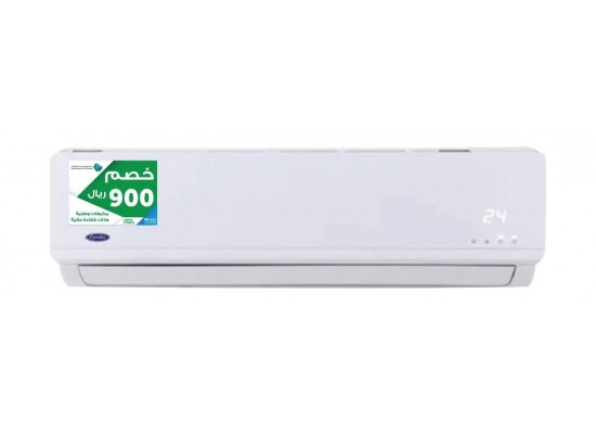 Carrier from High Efficiency Initiative Air Conditioner 18000 BTU cooling  & heating  Split AC  - (38SKH18US31)