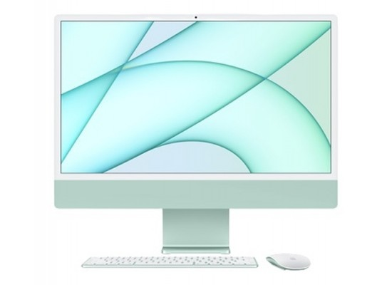 Pre-Order:  Apple iMac M1 Processor 8GB RAM 256 SSD 24-inch 4.5K Retina Display All-In-One Desktop (2021) - Green