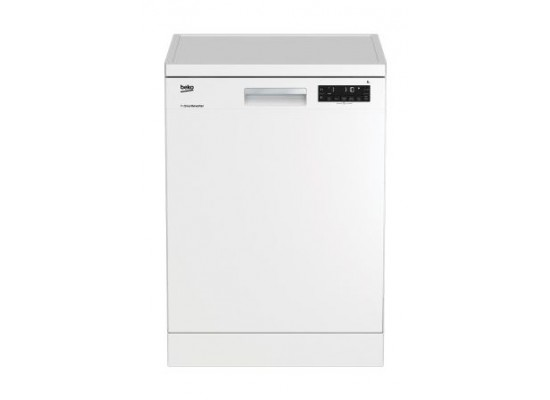 Beko 8 Program Free Standing Dishwasher (DFN28320W) – White