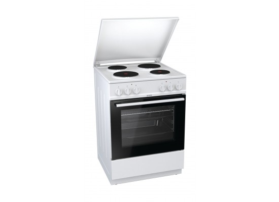 Gorenje 60cm 4 Burners Electric Cooker - E6120WD