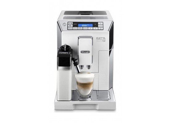 De'longhi ecam 45. 760. W eletta plus - white price in Saudi