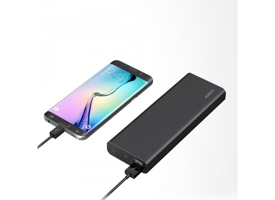 AUKEY 20100mAh Quick Charge 3.0 Power Bank - Black 5th view