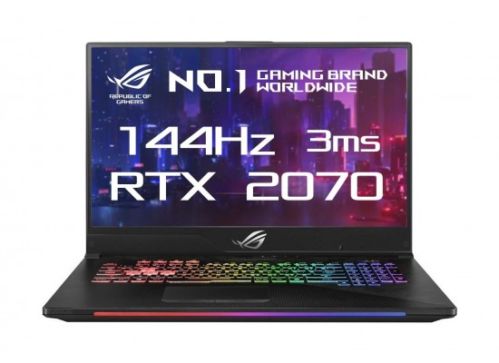 ASUS ROG Strix SCAR II GL704 GeForce RTX 2070 8GB Core i7 16GB RAM 1TB HDD + 256GB SSD 17.3 inch Gaming Laptop 4