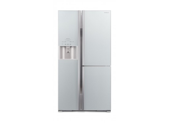 Hitachi 20 Cubic Feet Side by Side Refrigerator (R-M800GPS2-GS) - Silver
