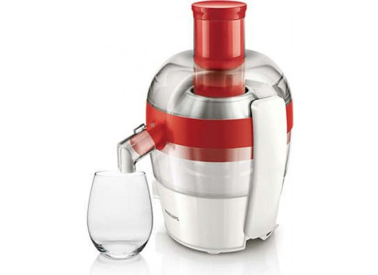 Philips 1.5L 400W Viva Collection Juicer (HR1832/45) - Red