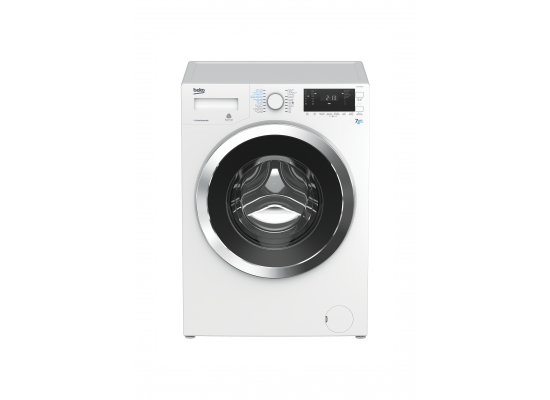 Beko 7/4 Kg 1200 RPM Front Load Washer/Dryer (HTV8733XW0) – White