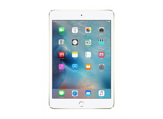 Apple iPad Mini 4 128GB LTE/WiFi Tablet - Gold MK782AB/A