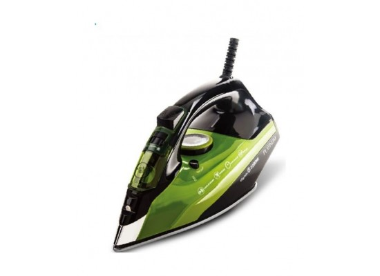 Platinum 2720W Steam Iron (ES-2340) – Black / Green