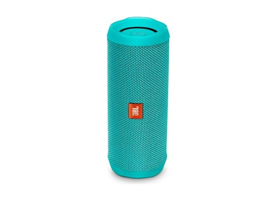 JBL Flip 4 Waterproof Bluetooth Portable Speakers (JBLFLIP4TEL) - Teal front view
