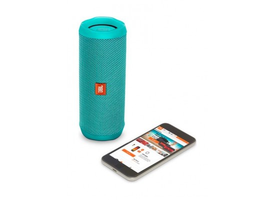 JBL Flip 4 Waterproof Bluetooth Portable Speakers (JBLFLIP4TEL) - Teal 4th view