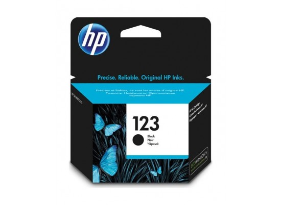 HP Ink 123 for Ink Jet Printing 100 Page Yield Tri Colors + HP Ink 123 for Ink Jet Printing 120 Page Yield Black